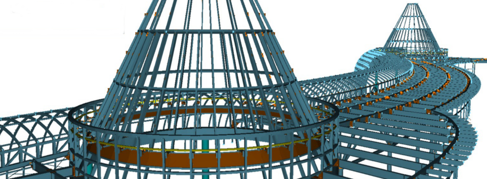 ProSteel ist eine innovative 3D-Modellierungssoftware für den Stahl- und Metallbau.