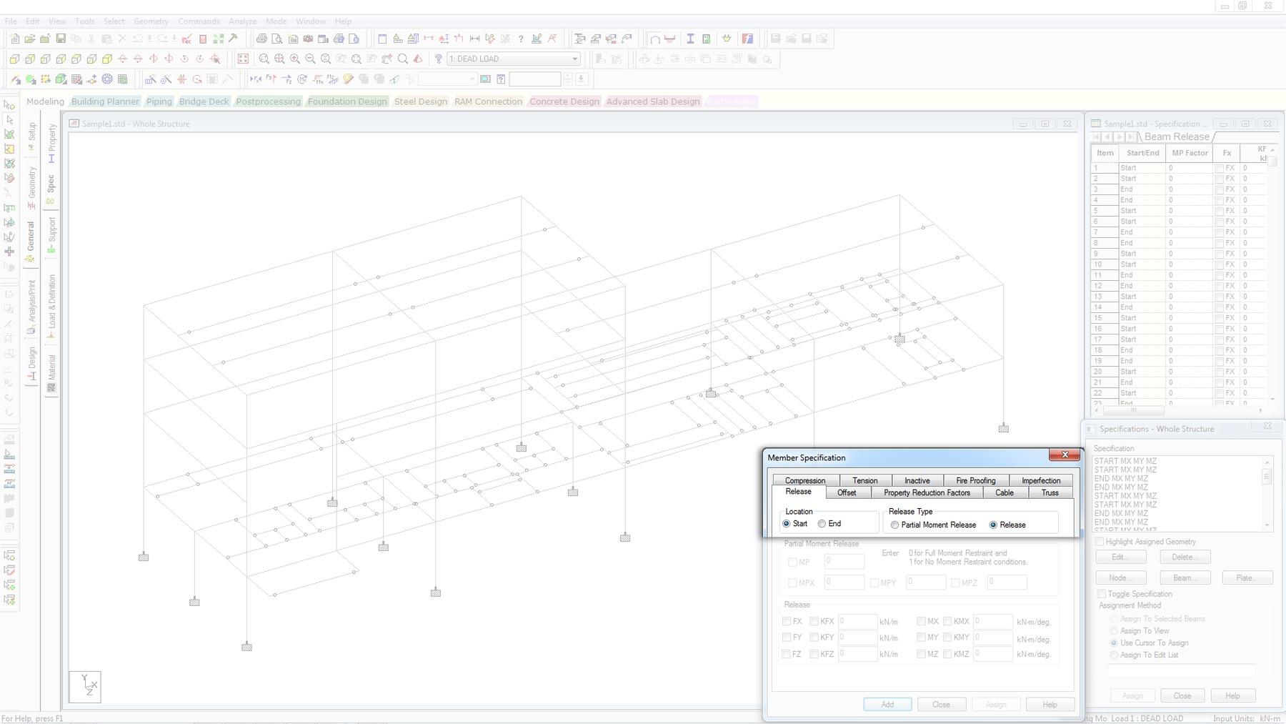 Design lateral resisting frames