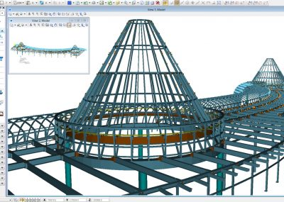 Model structural steel