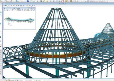 Stahlstrukturen modellieren