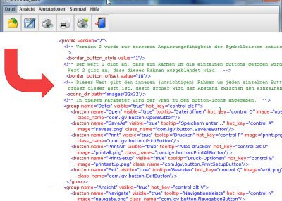 It is easy to edit and configure the multi-function bar using XML parameters